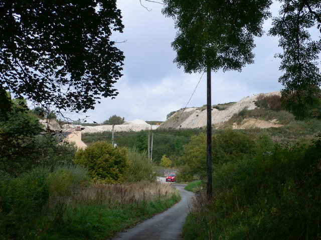 Quarry above Graianrhyd