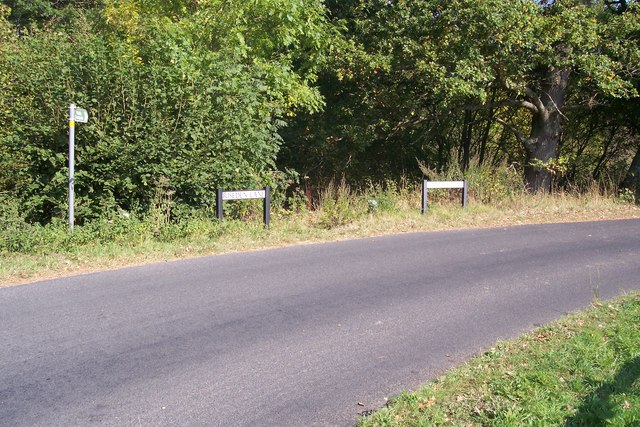Riseden Lane becomes Ranters Lane