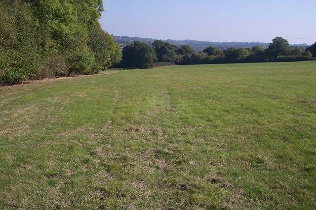 Footpath beside Sandfield Wood