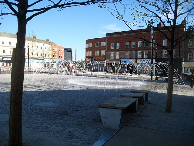 Bull Ring water feature