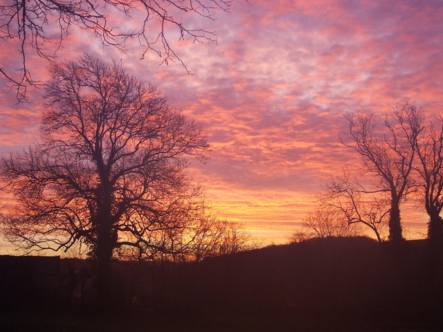 Boxing Day sunrise at Southbury