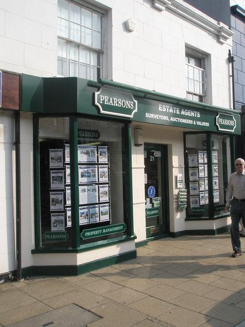 Pearsons in Fareham town centre