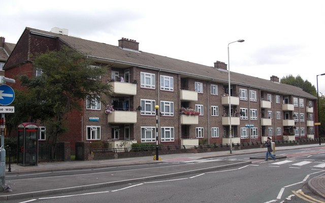 Howland Estate (part), Lower Road, Rotherhithe Street, SE16