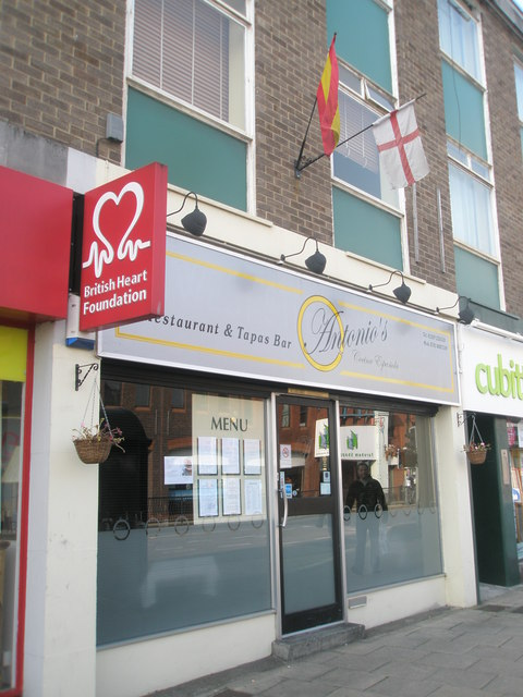 Antonio's in Fareham town centre