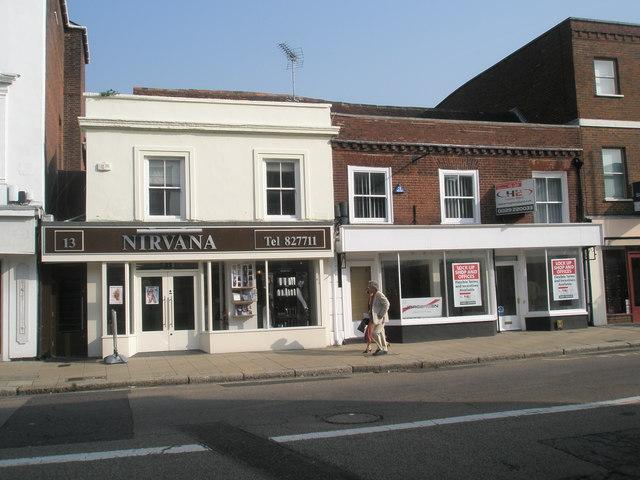 Nirvana in Fareham town centre
