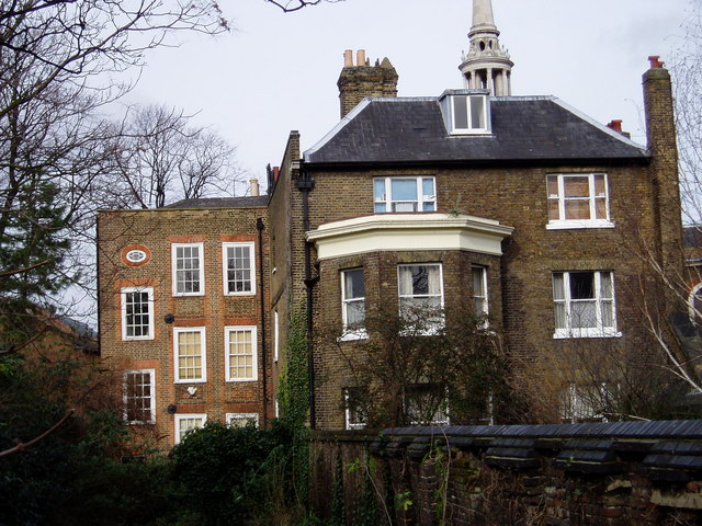 School and rectory, St Marychurch Street, Rotherhithe, London, SE16