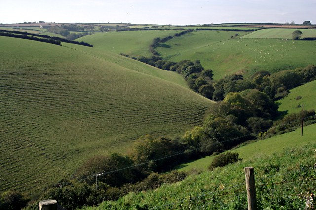 A Steep Sided Valley