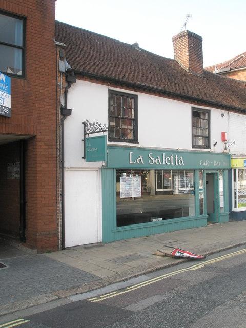 La Saletta in Fareham town centre