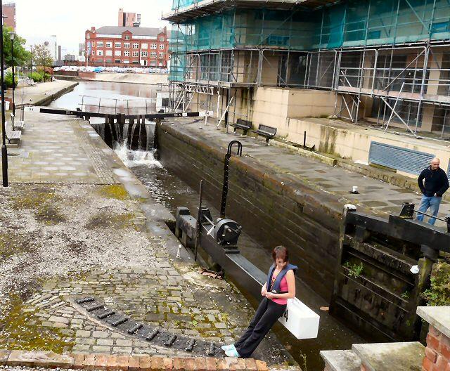 Rochdale Canal Lock 84