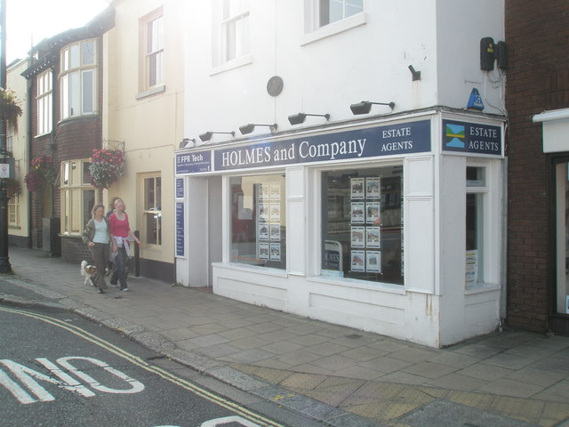 HOLMES and Company in Fareham town centre