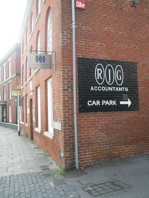 RJG in East Street