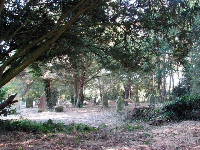 The church of All Saints - churchyard