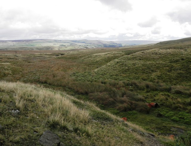 The Source of the (Yorkshire) Calder, Heald Moor