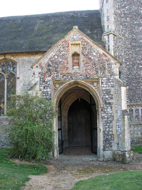 The church of All Saints - north porch