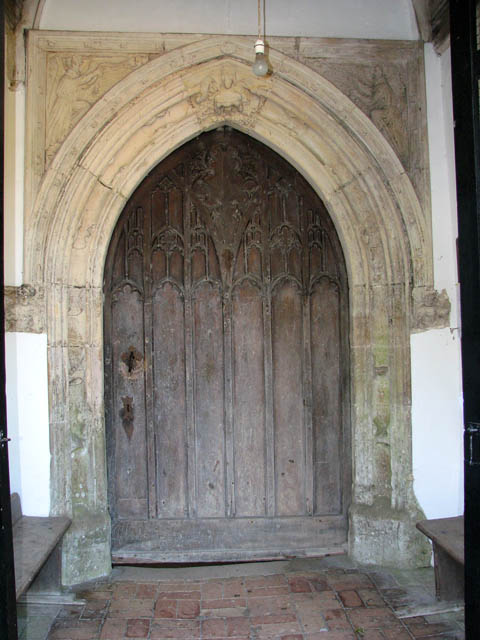 The church of All Saints - C15 north doorway