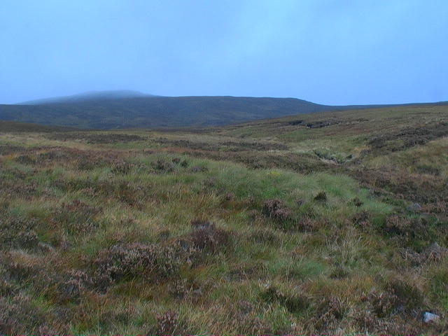 Catchment of the burn in Coire Beithe