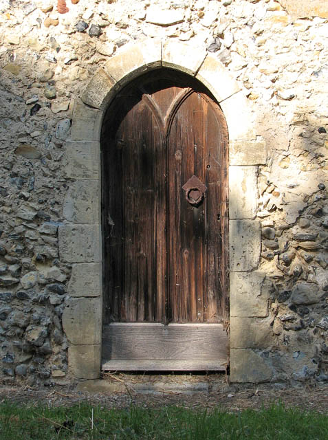 The church of All Saints - the priest door