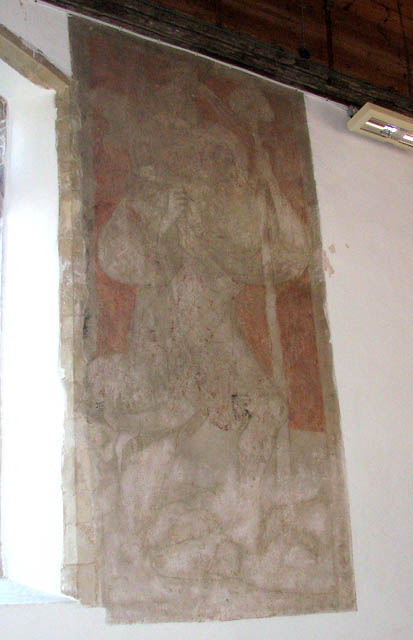 The church of All Saints - wall painting