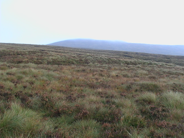 Moorland wilderness east of track in Coire  Beithe