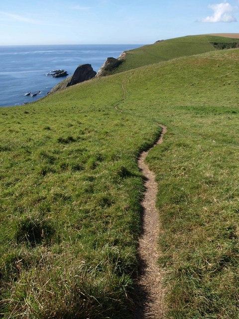 Coast path on Hoist Point