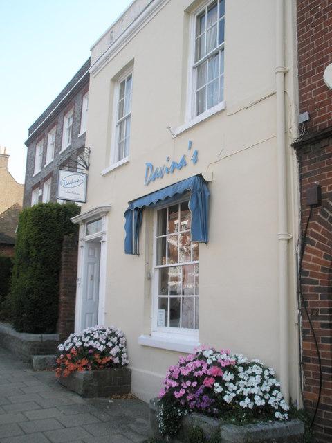 Davina's in Union Street