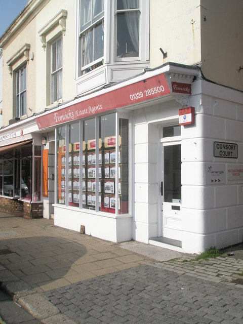 Estate agents in the High Street
