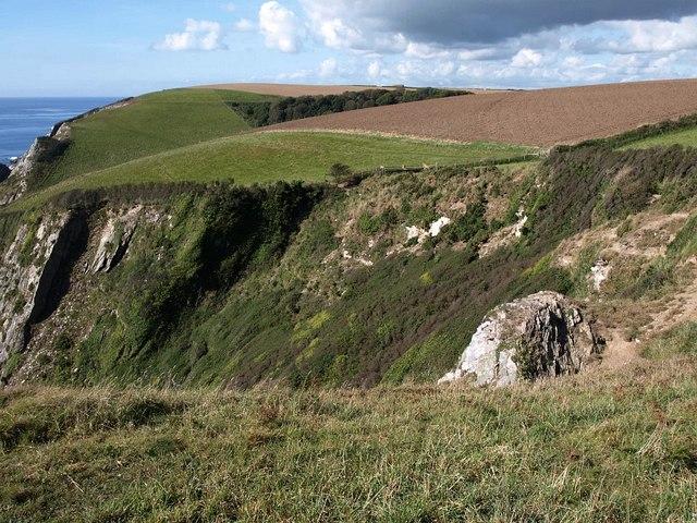 Cliffs at Hoist Point