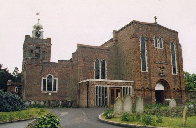 St Peter & St Paul, Fareham