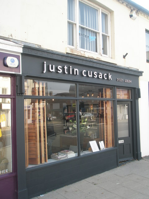 justin cusack  in the High Street
