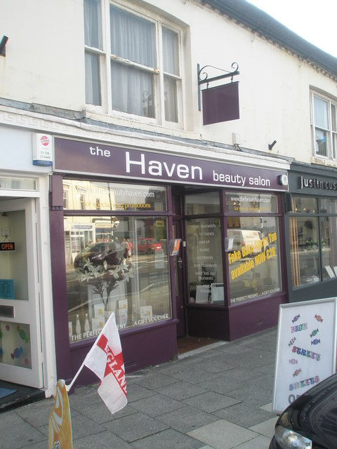 Beauty salon  in the High Street
