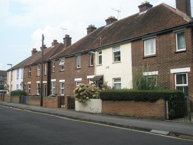 Houses in Western Road