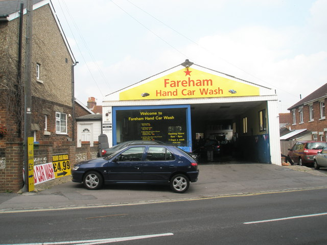 Fareham Hand Car Wash in Western Road