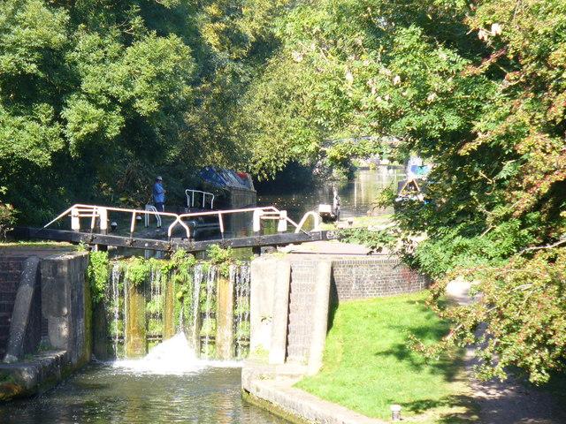 Lock at Water Lane