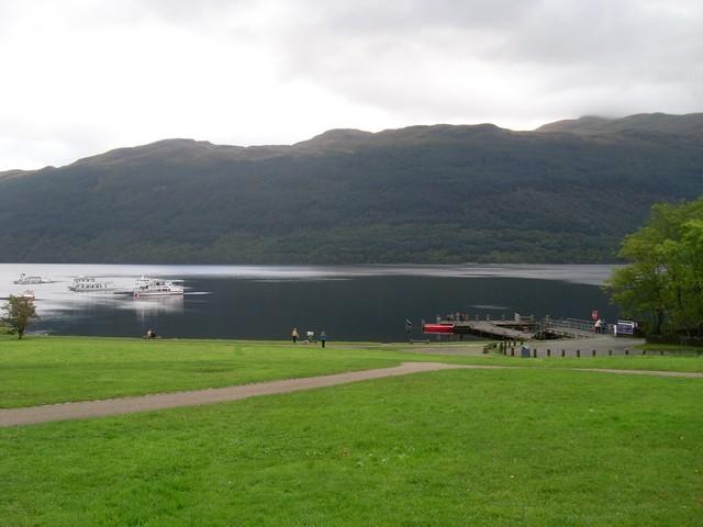 Loch Lomond and Tarbet Pier