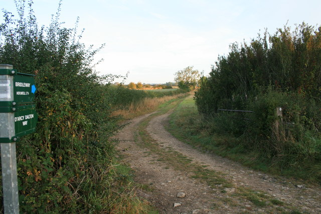 Bridleway to Holwell