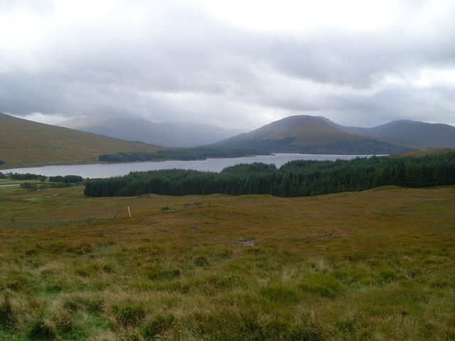 Loch Tulla from the viewpoint