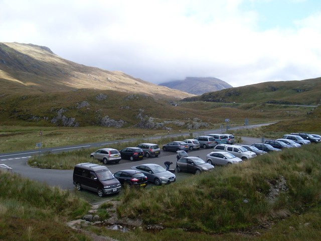 Car parking at Lairich Eilde