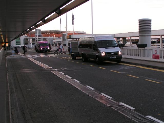 Terminal 1 departures drop-off point