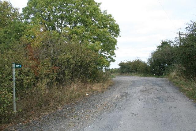 Bridleway to Shilton
