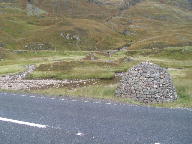 Cairn by the A82