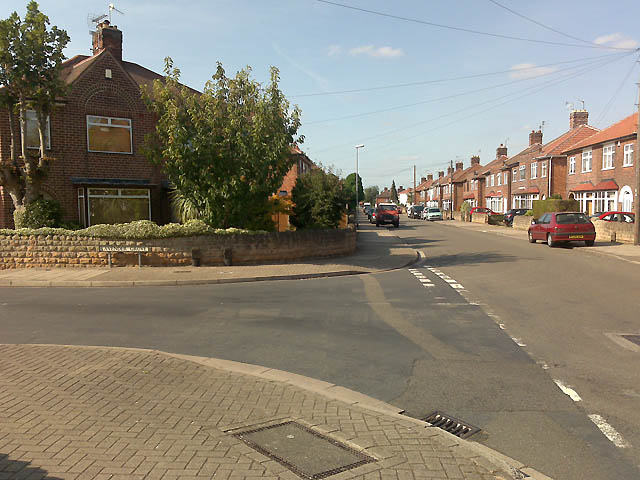 The Junction of Beech Avenue and Lavender Grove