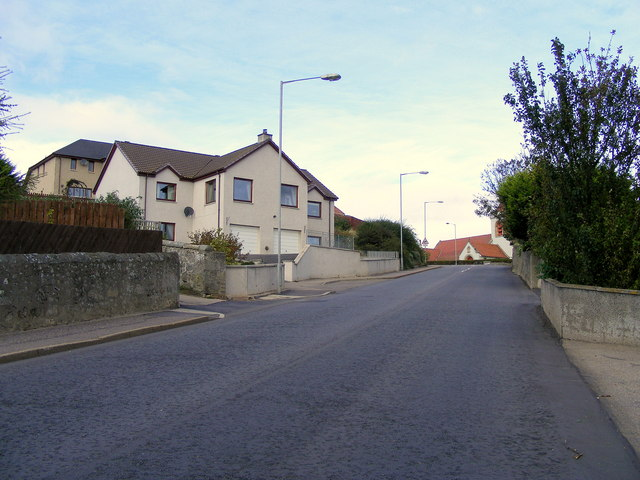 School Brae at Lossiemouth