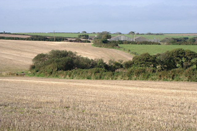 Farmland around Great Tregue