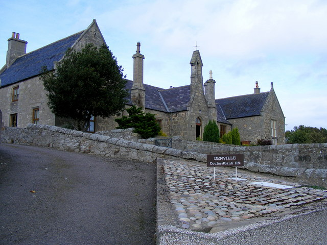A Former School at Lossiemouth