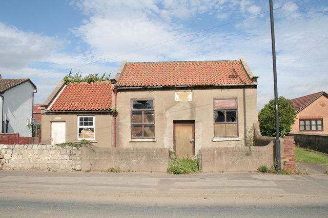The old Wesleyan Chapel, Mosham Road, Blaxton
