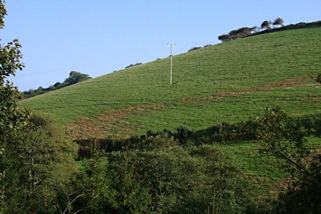 The Hillside near Lannear