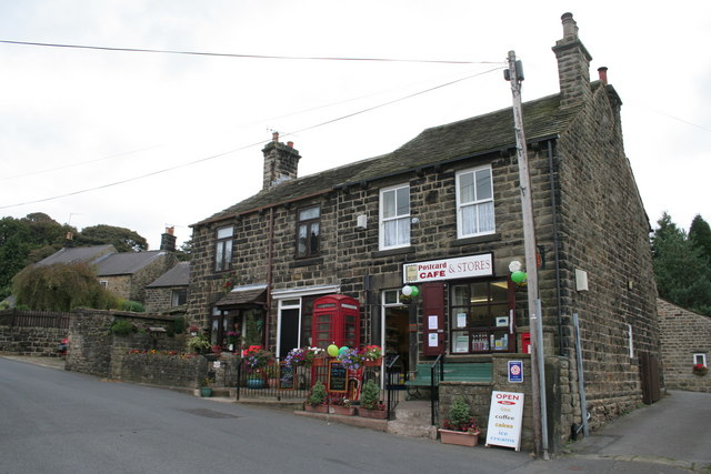 Quiet day at the Post Office, Low Bradfield