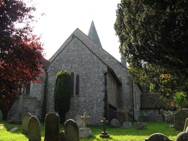 Graveyard at St John the Baptist church