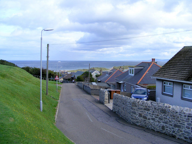Quarry Road at Lossiemouth