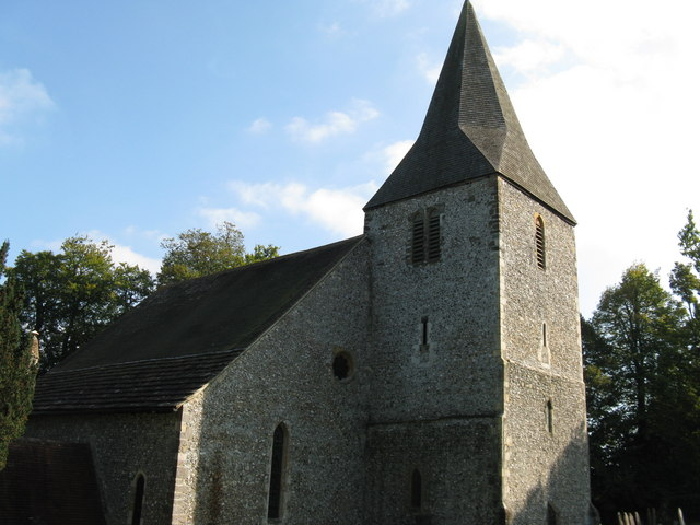 St John the Baptist church next to Findon Place